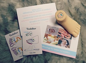 Baby & Toddler Reflexology Workshops. Baby reflex leaflet & foot